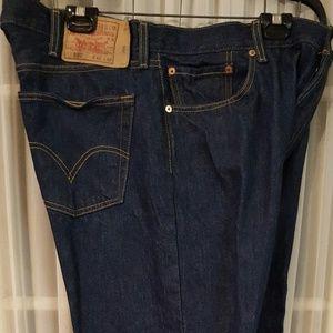 Men's Levis 501 original shrink to fit jean